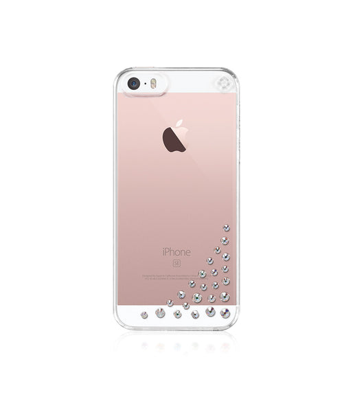Transparent Case for iPhone SE : Diffusion / Crystal AB
