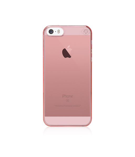 MINIMALIST Case for iPhone SE / Tinted Pink
