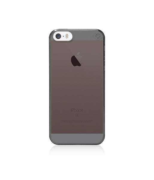 MINIMALIST Case for iPhone SE / Tinted Grey