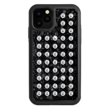 EXTRAVAGANZA ᛫ BLACK SHELL ᛫ protective cover with Swarovski Crystals for iPhone 11 PRO - Bling My Thing