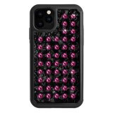 EXTRAVAGANZA ᛫ BLACK SHELL ᛫ Protective Cover with Swarovski® Crystals for iPhone 11 PRO - Bling My Thing