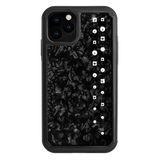LUX ᛫ BLACK SHELL ᛫ Protective Cover with Swarovski® Crystals for iPhone 11 PRO - Bling My Thing