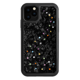 MILKY WAY ᛫ BLACK SHELL ᛫ Protective Cover with Swarovski® Crystals for iPhone 11 PRO - Bling My Thing