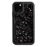 MILKY WAY ᛫ BLACK SHELL ᛫ protective cover with Swarovski Crystals for iPhone 11 PRO - Bling My Thing