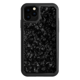 MINIMALIST • BLACK SHELL Hybrid shock-proof case for IPHONE 11 PRO - Bling My Thing