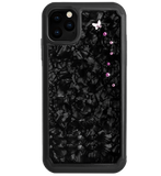 PAPILLON ᛫ BLACK SHELL ᛫ protective cover with Swarovski Crystals for iPhone 11 PRO MAX - Bling My Thing