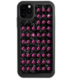 EXTRAVAGANZA ᛫ BLACK SHELL ᛫ Protective Cover with Swarovski® Crystals for iPhone 11 PRO MAX - Bling My Thing - Swarovski Protective iPhone Case