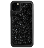 MILKY WAY ᛫ BLACK SHELL ᛫ protective cover with Swarovski Crystals for iPhone 11 PRO MAX - Bling My Thing