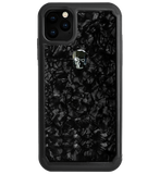 TREASURE ᛫ BLACK SHELL ᛫ Protective Cover with Swarovski® Crystals for iPhone 11 PRO MAX - Bling My Thing