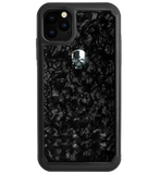 TREASURE ᛫ BLACK SHELL ᛫ protective cover with Swarovski Crystals for iPhone 11 PRO MAX - Bling My Thing