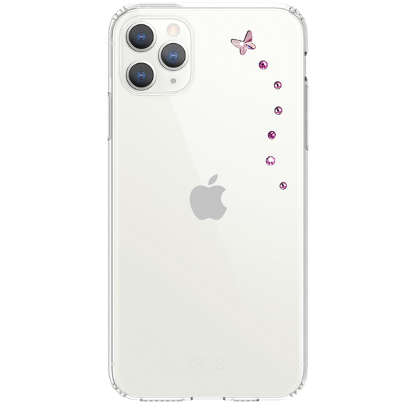 PAPILLON ᛫ CLEAR ᛫ Protective Cover with Swarovski® Crystals for iPhone 11 PRO MAX - Bling My Thing - Swarovski Protective iPhone Case