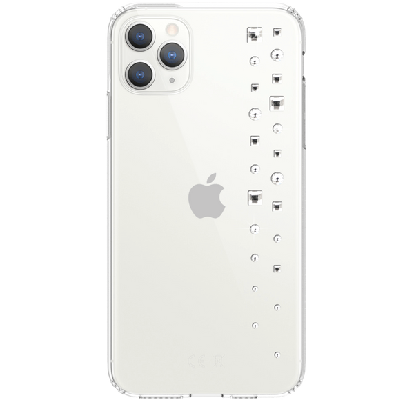 LUX ᛫ CLEAR ᛫ Protective Cover with Swarovski® Crystals for iPhone 11 PRO MAX - Bling My Thing