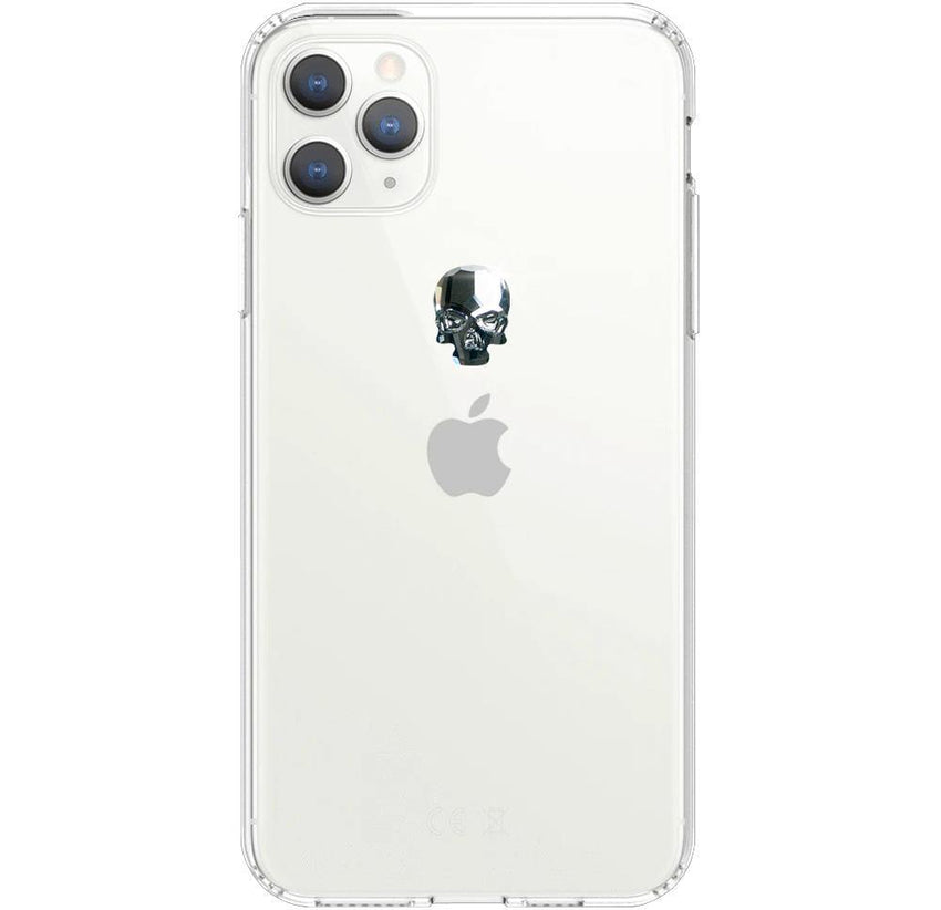 TREASURE ᛫ CLEAR ᛫ Protective Cover with Swarovski® Crystals for iPhone 11 PRO MAX - Bling My Thing