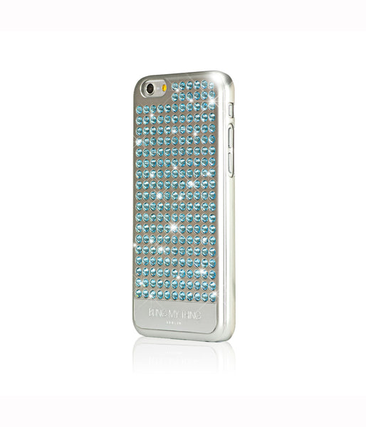 Pure Silver, Aquamarine, Extravaganza, iPhone 6/6s Case