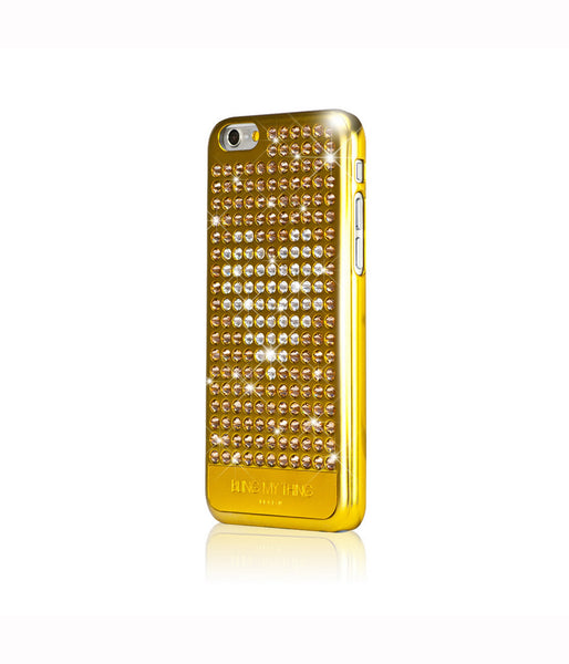 Heart on Gold, Light Colorado Topaz/Crystal Heart, Extravaganza, iPhone 6/6s Case - Bling My Thing