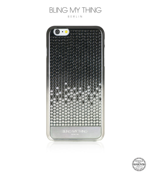 huge selection of dc404 7cc09 Pure luxury! CASCADE case for iPhone 6 Plus: Swarovski® Crystals designer  cover by Bling My Thing - Brilliant Onyx