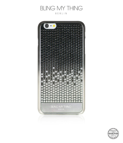 Brilliant Onyx, Black to Silver Gradation, Vogue, iPhone 6/6s Case