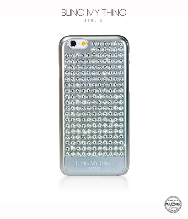 Pure Silver, Crystal, Extravaganza, iPhone 6/6s Case - Bling My Thing