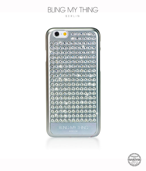 Pure Silver, Crystal, Extravaganza, iPhone 6/6s Case