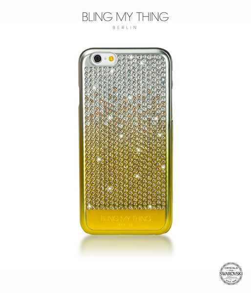 Brilliant Gold, Gold Gradation, Vogue, iPhone 6/6s Case - Bling My Thing