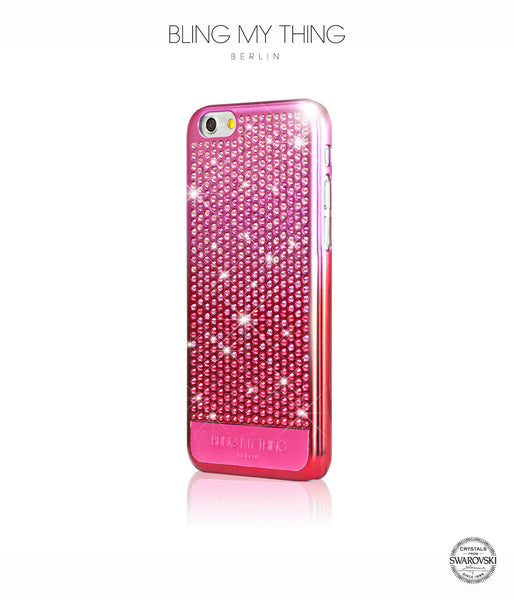 Brilliant Pink, Pink Gradation, Vogue, iPhone 6/6s Case - Bling My Thing
