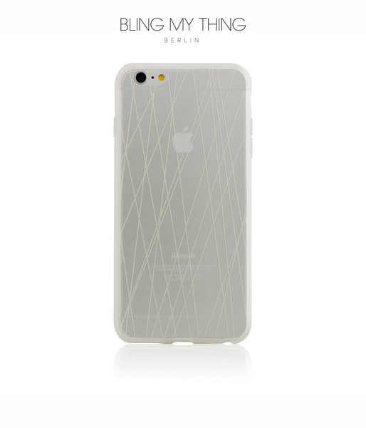 Shock absorption bumper + flexible anti scratch ultra clear back for iPhone 6/6s Plus by AYANO: Expression Rain Design