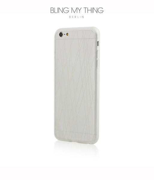 Shock absorption bumper + flexible anti scratch ultra clear back for iPhone 6/6s Plus by AYANO: Expression Rain Design - Bling My Thing