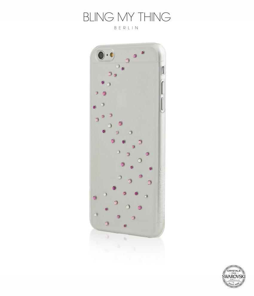 Milky Way Pink Mix, Designer iPhone 6 Plus Case - Bling My Thing