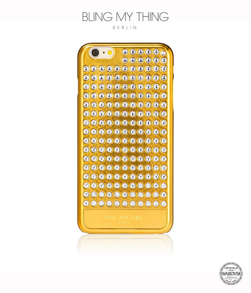 Ultimate Sparkle! Extravaganza case  iPhone 6 Plus: Swarovski® Crystals cover by Bling My Thing - Gold + Crystal