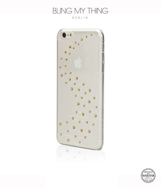 Milky Way (Light Topaz) case for iPhone 6 Plus: Swarovski® Crystals designer cover by Bling My Thing - Bling My Thing