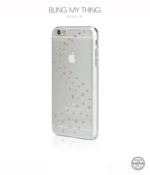Milky Way (Light Rose) case for iPhone 6 Plus: Swarovski® Crystals designer cover by Bling My Thing - Bling My Thing