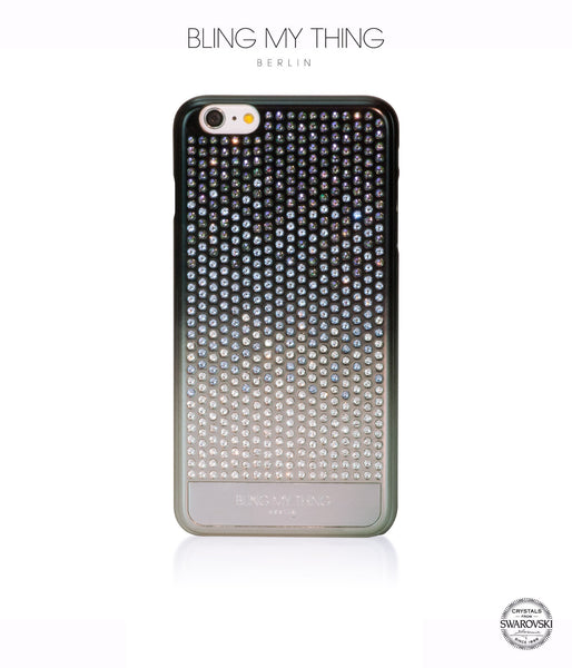 Pure luxury! CASCADE case for iPhone 6 Plus: Swarovski® Crystals designer cover by Bling My Thing - Paradise Shine Mix