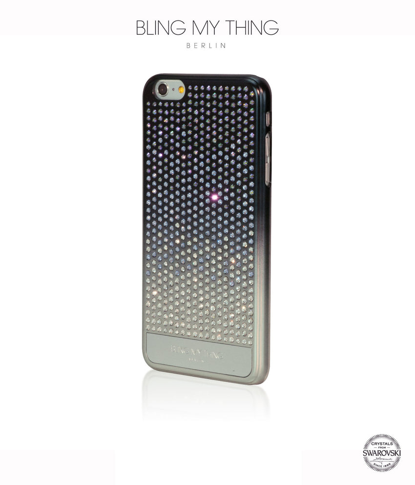 Pure luxury! CASCADE case for iPhone 6 Plus: Swarovski® Crystals designer cover by Bling My Thing - Paradise Shine Mix - Bling My Thing