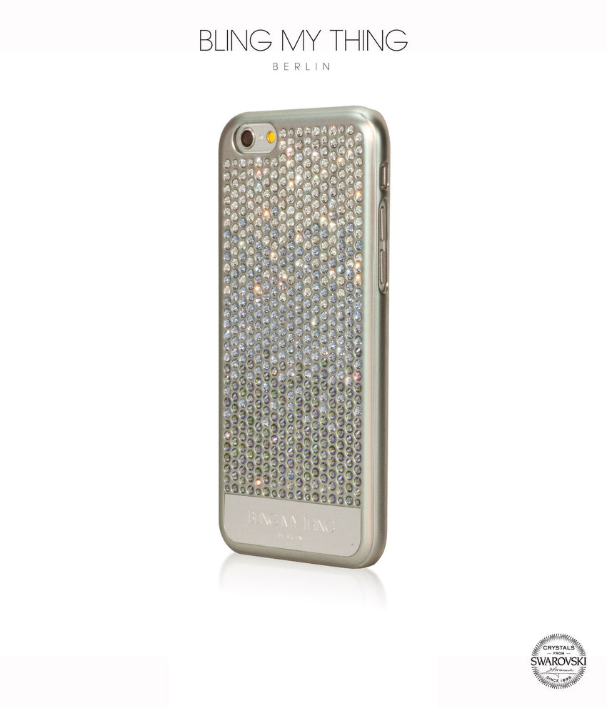 Pure luxury! VOGUE case for iPhone 6/6s: Swarovski® Crystals designer cover by Bling My Thing - Brilliant Paradise Shine Light - Bling My Thing
