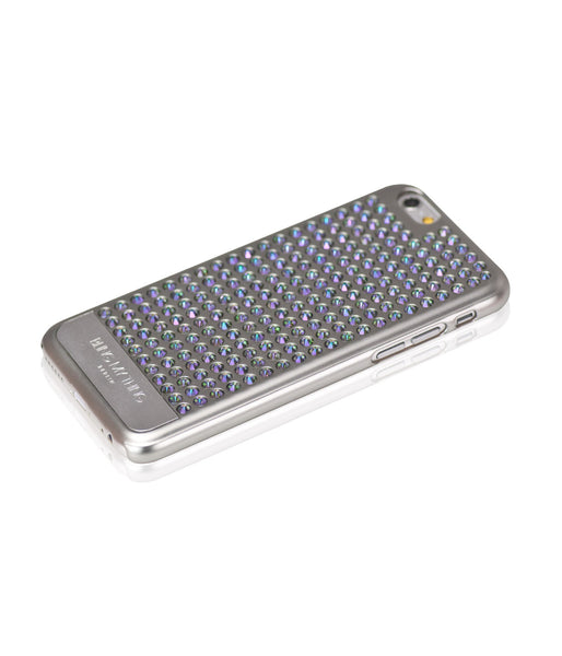 Ultimate Sparkle! Extravaganza case for iPhone 6/6s: Swarovski® Crystals designer cover by Bling My Thing - Pure Silver (Paradise Shine)