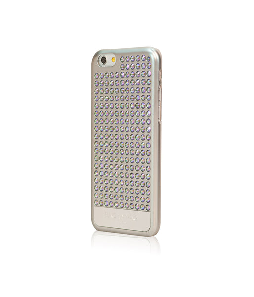 Ultimate Sparkle! Extravaganza case for iPhone 6/6s: Swarovski® Crystals designer cover by Bling My Thing - Pure Silver (Paradise Shine) - Bling My Thing