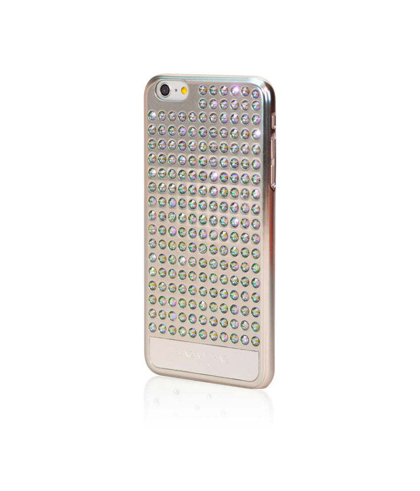 Ultimate Sparkle! Extravaganza case for iPhone 6 Plus: Swarovski® Crystals designer cover by Bling My Thing - Pure Silver (Paradise Shine) - Bling My Thing