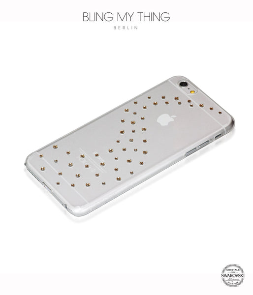 Milky Way (Light Colorado Topaz) case for iPhone 6s Plus: Swarovski ® Crystals designer cover by Bling My Thing