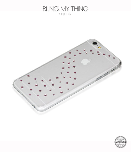 Milky Way (Light Rose) case for iPhone 6s Plus: Swarovski ® Crystals designer cover by Bling My Thing - Bling My Thing