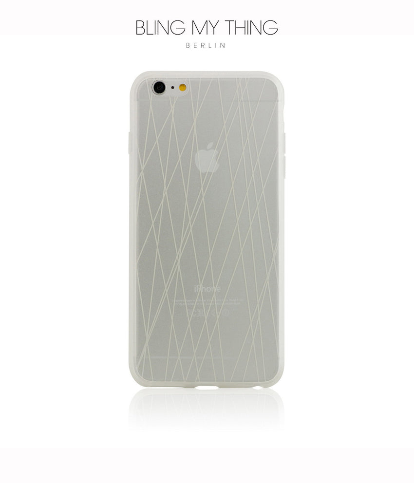 Shock absorption bumper + flexible anti scratch ultra clear back for iPhone 6s Plus by AYANO: Expression Rain Design - Bling My Thing