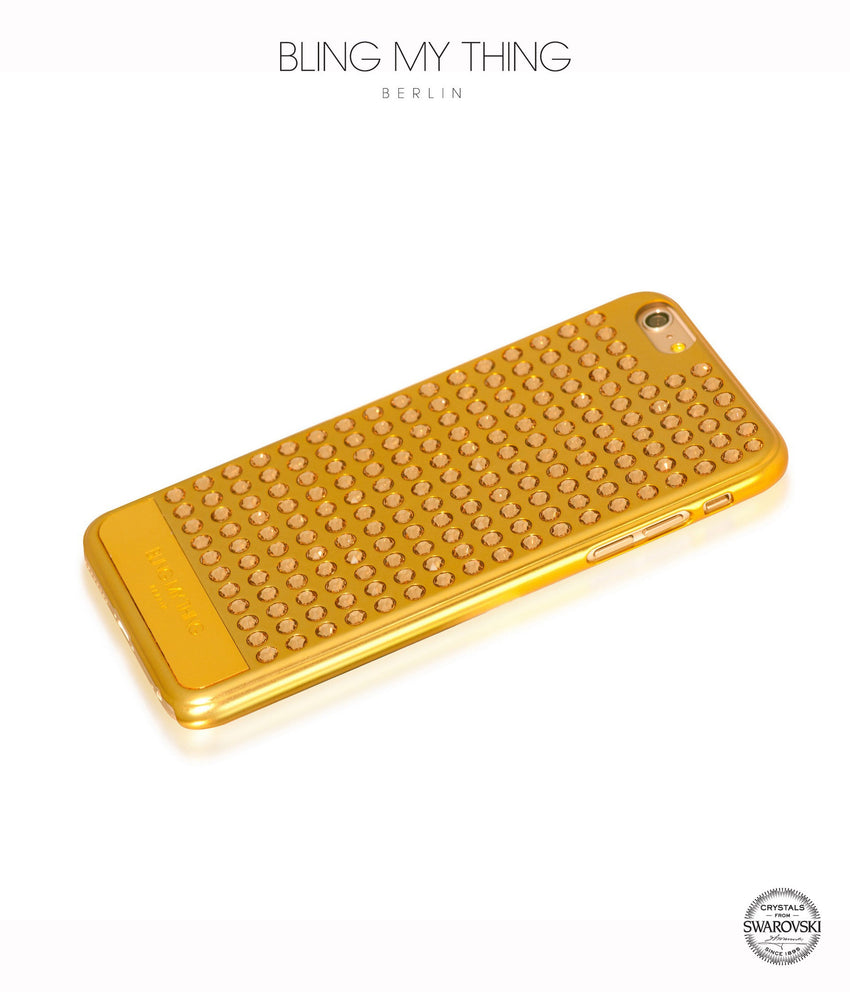Ultimate Sparkle! Extravaganza case for iPhone 6s Plus: Swarovski ® Crystals cover by Bling My Thing - Gold + LCT - Bling My Thing