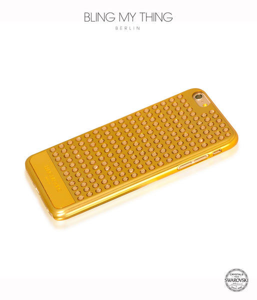 Ultimate Sparkle! Extravaganza case for iPhone 6s Plus: Swarovski ® Crystals cover by Bling My Thing - Gold + LCT
