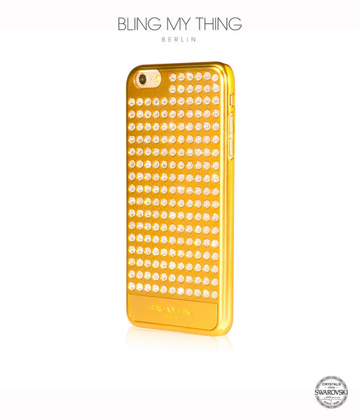 Ultimate Sparkle! Extravaganza case  iPhone 6s Plus: Swarovski ® Crystals cover by Bling My Thing - Gold + Crystal - Bling My Thing