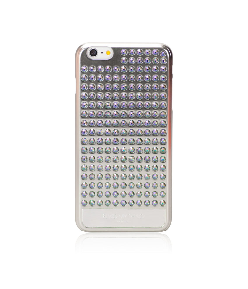 Ultimate Sparkle! Extravaganza case for iPhone 6s Plus: Swarovski ® Crystals designer cover by Bling My Thing - Pure Silver (Paradise Shine) - Bling My Thing