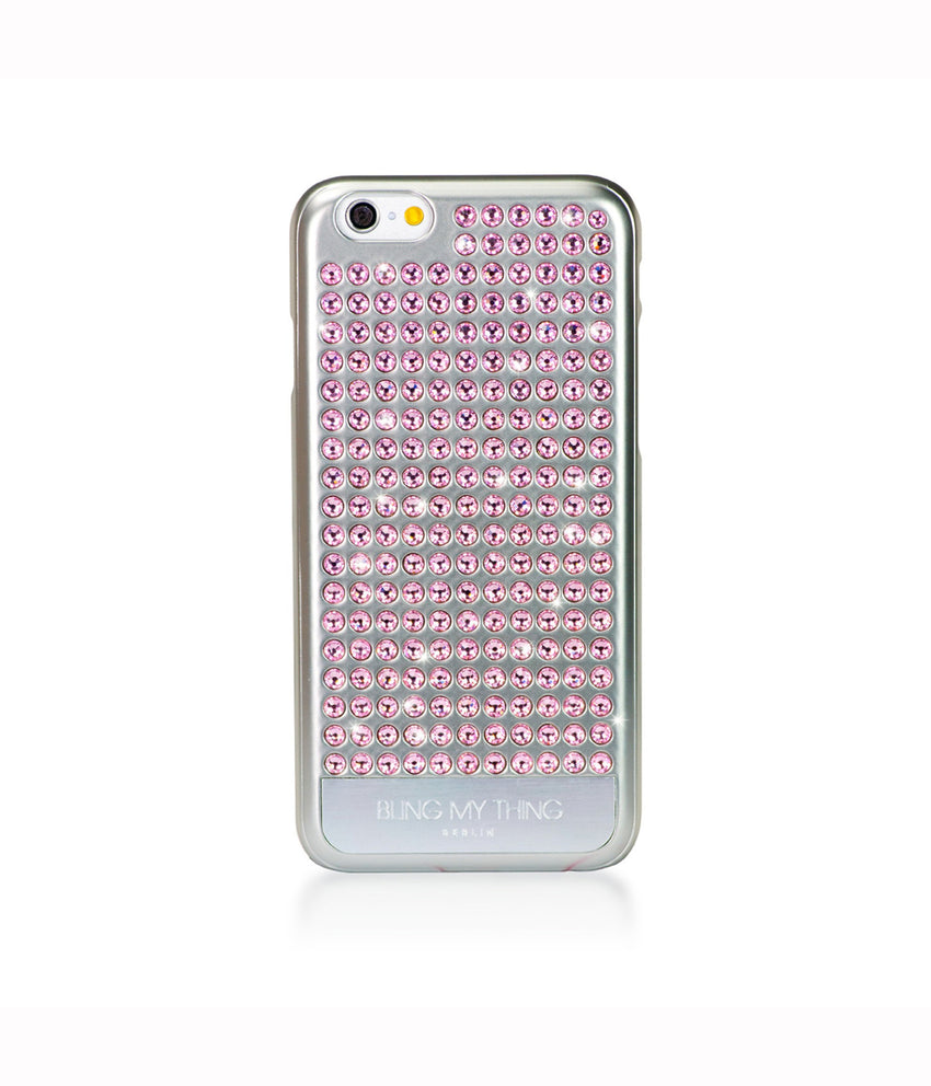 Pure Silver, Light Rose, Extravaganza, iPhone 6s Case - Bling My Thing