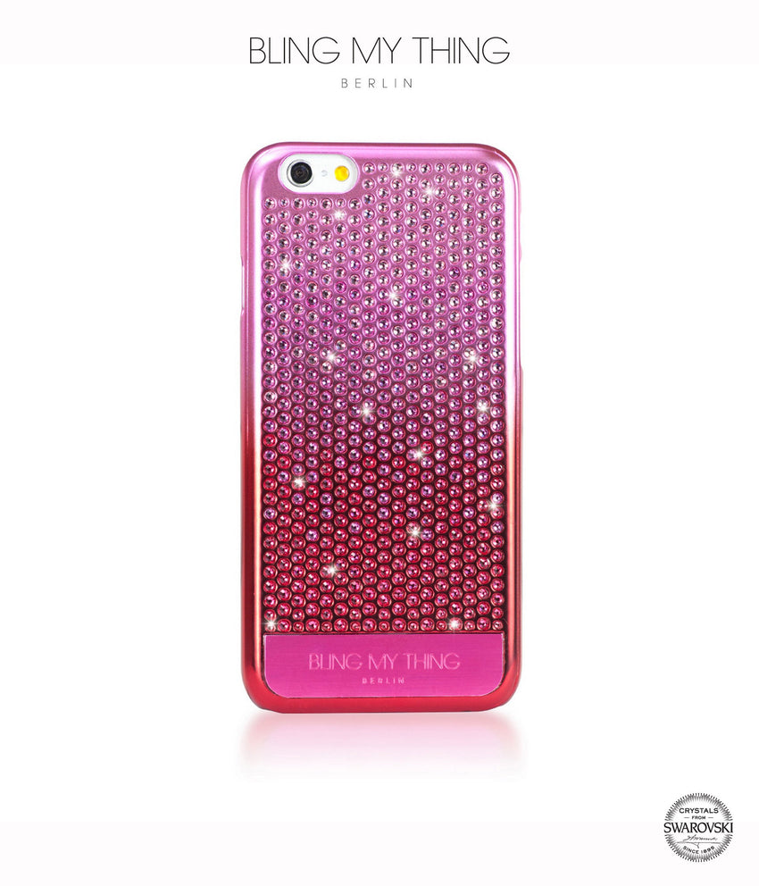 Brilliant Pink, Pink Gradation, Vogue, iPhone 6s Case - Bling My Thing