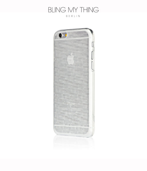 Mosaic Ice, White, iPhone 6s Hard Case