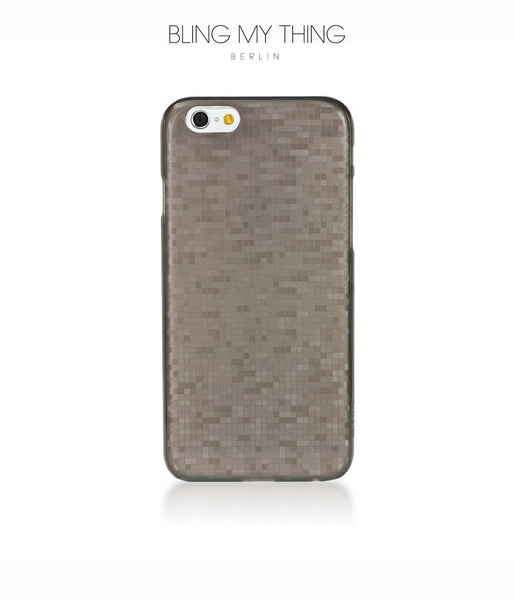 Mosaic Cappuccino, Brown, iPhone 6s Hard Case