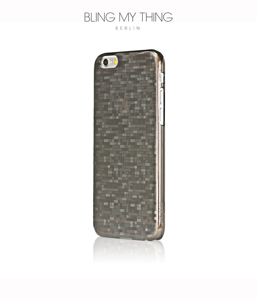 Mosaic Cappuccino, Brown, iPhone 6s Hard Case - Bling My Thing