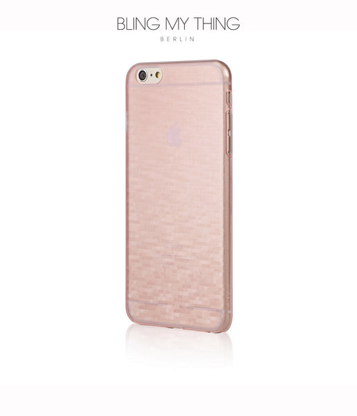Slim, Translucent, hard case for iPhone 6s Plus: Mosaic Sakura by AYANO (Pink)
